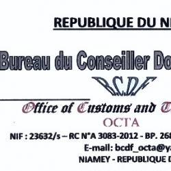 BUREAU DU CONSEILLER DOUANIER ET FISCAL-BCDF/OCTA