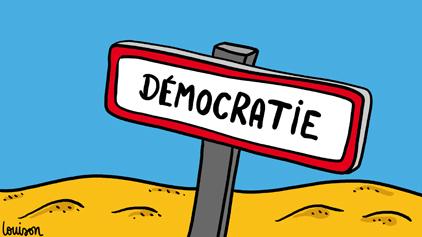 DISCUSSION D'UN GROUPE DE JEUNES DENOME ''LES DEMOCRATES''
